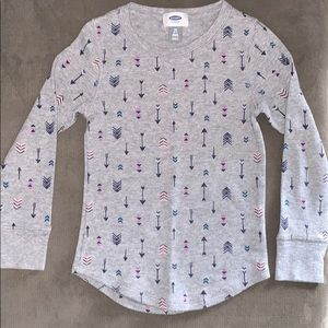 Old Navy Shirts & Tops - ⏰ SALE Set of 3- Thermal long sleeves - Size 6-7